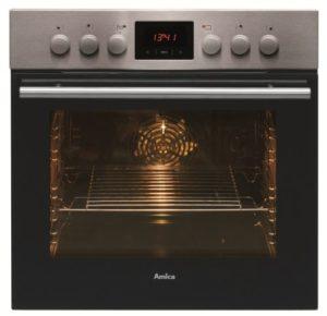 Amica EHC 12550 E Herd-Kochfeld-Kombination / A / 0.95 kWh / 66 L / Steam Clean Reinigungsfunktion durch Wasserdampf / Timer(sensorengesteuert) für 9 Beheizungsarten LED Display / gefalzt, 3D-Effekt - 2