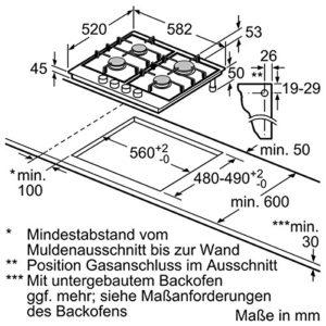 NEFF TS 2236 N Gas-Kochfeld - 2