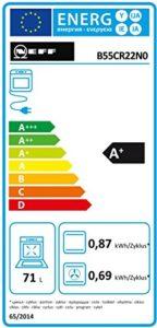 Energieeffizienzklassen Neff Backofen Test