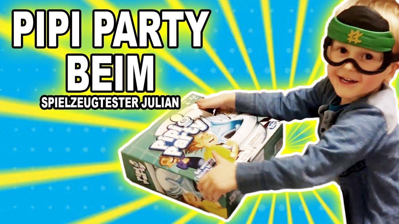 pipi party beim spielzeugtester